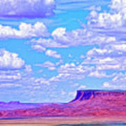 Mesa At Vermilion Cliffs Art Print