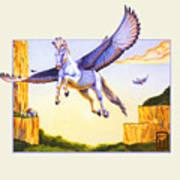 Mesa Pegasus Art Print