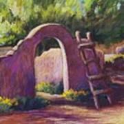 Mesilla Archway Art Print