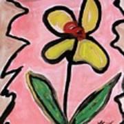 Message Of Yellow Art Print