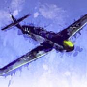 Messerschmitt Bf 109 Art Print