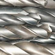 Metal Drill Bits Art Print