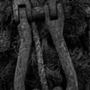 Metal Links Art Print