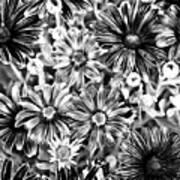 Metal Petals Art Print