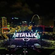 Metallica In Stl Art Print
