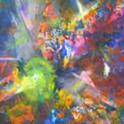 Metatronic Energies Art Print