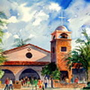 Methodist Church  Gilbert Az Art Print