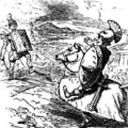 Metius Aggravating Titus Manlius Art Print