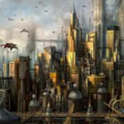 Metropolis Art Print by Philip Straub