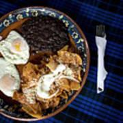 Mexican Breakfast Art Print
