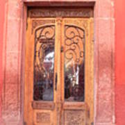 Mexican Doorway 2 Art Print
