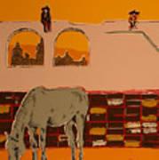 Mexican Landscape Art Print