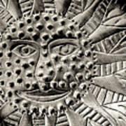 Mexican Mirror Detail Art Print