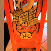 Mexican Swan Art Print