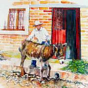 Mexico-el Burrito Art Print