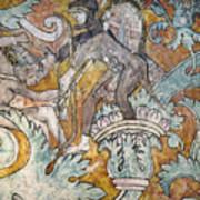 Mexico: Ixmiquilpan Fresco Art Print