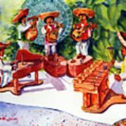Mexico Mariachis Art Print