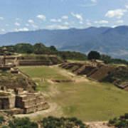 Mexico: Monte Alban Art Print