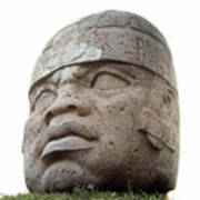 Mexico: Olmec Head Art Print