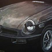 Mgb Rubber Bumper Front Art Print