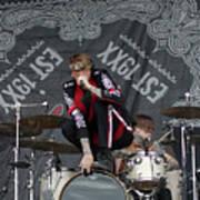 Mgk Drums Art Print