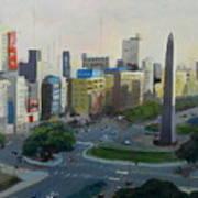 Mi Buenos Aires Querido... Art Print