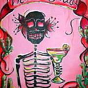 Mi Margarita Art Print by Heather Calderon