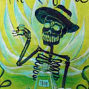 Mi Tequila Art Print