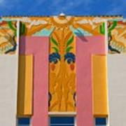 Miami Beach Art Deco Art Print