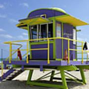 Miami Beach Art Print