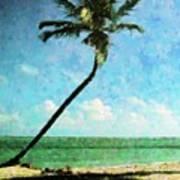 Miami Beach Sunbathers Art Print
