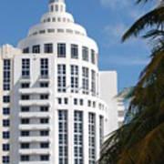 Miami S Capitol Building Art Print
