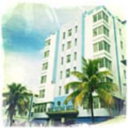 Miami South Beach Ocean Drive 4 Art Print