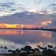 Miami Sunrise Part 1 Art Print