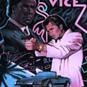 Miami Vice Art Print