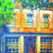 Micanopy Warehouse Art Print