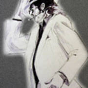 Michael Jackson - Smooth Criminal In Tii Art Print