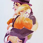 Michael Jackson - With Katie Print by Hitomi Osanai
