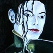 Michael Jackson 2 Art Print