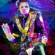 Michael Jackson '93 Moves Art Print
