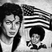 Michael Jackson Canvas Print Art By Andrew Read