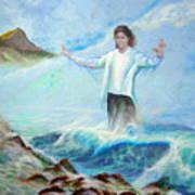 Michael Jackson In Hawaii Art Print