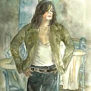 Michael Jackson One More Chance Screenshot Art Print by Nicole Wang