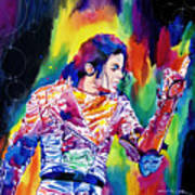 Michael Jackson Showstopper Art Print by David Lloyd Glover