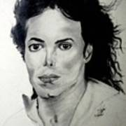 Michael Art Print by LeeAnn Alexander