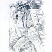 Michael Smooth Criminal II Art Print