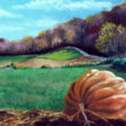Michael's Great Pumpkin Art Print