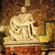 Michelangelo Masterpiece Of A Mother's Love Art Print