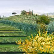 Michela's View Art Print