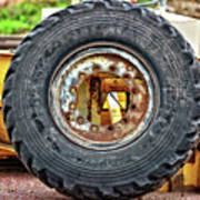 Michelin Weathered And Worn Art Print